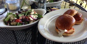Buffalo Chicken Sliders & Daily Salad Special!