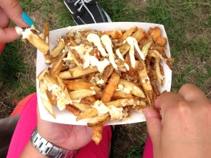 Parmesan Truffle Fries from Home Frite